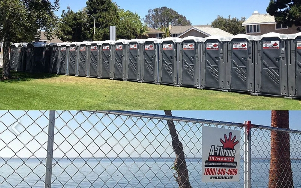 A-Throne Portable Restrooms & Temporary Fencing | Corey Vane